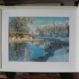 Картины, постеры, гобелены, панно - Зимний пейзаж, 0
