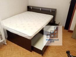 Кровати - Кровать двуспальная с ящиками и матрасом , 0