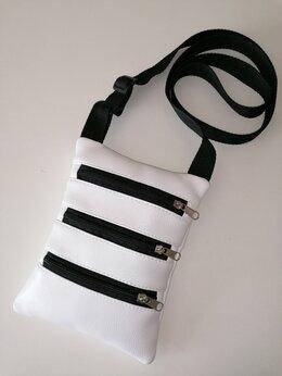 Сумки - Белая сумка планшет , 0
