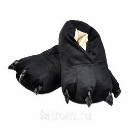 Кигуруми - Тапочки для кигуруми черные, 0