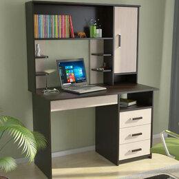 Компьютерные и письменные столы - Стол компьютерный с надстройкой ЛИК-5, 0