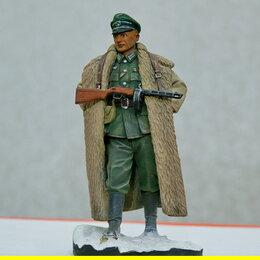 Сборные модели - 1/16 модель солдат фигурка Немецкий офицер Восточный Фронт с ППШ Верлинден 2112 , 0