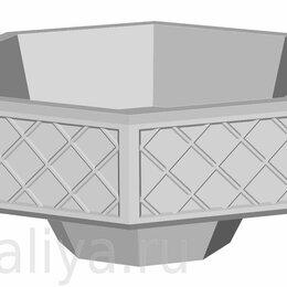 Вазы - Вазон «Восьмиугольный» уличный бетонный, 0