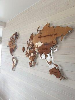 Картины, постеры, гобелены, панно - Карта мира, 0