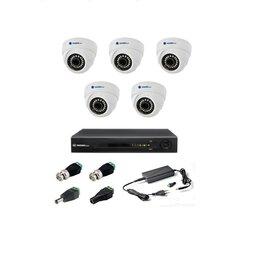 Камеры видеонаблюдения - Комплект видеонаблюдения Matrix Tech на 5 камер, 0