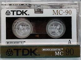 Музыкальные центры,  магнитофоны, магнитолы - TDK - MC-90 - Микрокассета, 0