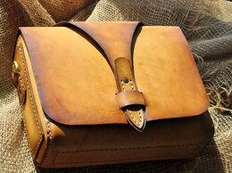 Сумки - Кожаная женская сумкка (25см х 17см х 8см), 0