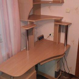 Компьютерные и письменные столы - Письменный/компьютерный стол и полка подвесная, 0