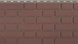 Фасадные панели - Панель Кирпич Клинкерный, Жжёный, 1220х440мм, 0