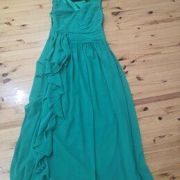 Платья - Платье нарядное изумрудное 48-50р., 0