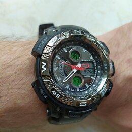 Наручные часы - Часы с двойным циферблатом (новые), 0