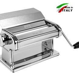 Пельменницы, машинки для пасты и равиоли - Ручная тестораскаточная машина без лапшерезки Marcato Atlas 180 Slide Италия, 0