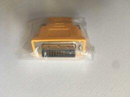 Компьютерные кабели, разъемы, переходники - новые переходники с DVI-D / HDMI в упаковке. …, 0