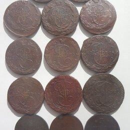 Монеты - 5 копеек екатерины 2, 0