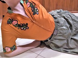 Блузки и кофточки - 🔴 Max Mara Италия рубашка блуза сорочка вышивка…, 0