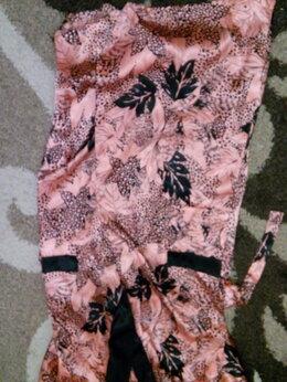 Домашняя одежда - Красивый длинный Халат под щелк из ПЭ, 0