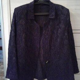 Жакеты - Новый жакет из очень красивой итальянской ткани размер 58-60, 0