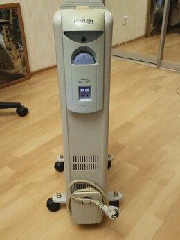 Радиаторы - Обогреватель, Масляный радиатор Scarlett SC-1163, 0