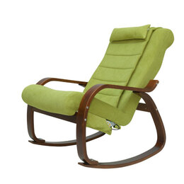 Массажные кресла - Массажное кресло-качалка для отдыха EGO Relax EG2005 Микрофибра Оливковый, 0