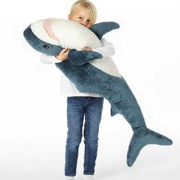Мягкие игрушки - Мягкая игрушка Акула Блохэй 100 см, 0