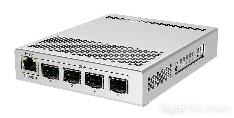 Коммутатор MikroTik CRS305-1G-4S+IN по цене 9926₽ - 3G,4G, LTE и ADSL модемы, фото 0