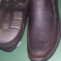 Мокасины - 48 размер Clarks туфли 32см по стельке. , 0