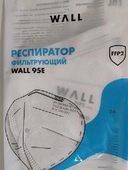 Средства индивидуальной защиты - Респиратор полумаска WALL 95E FFP2 NR D, 0