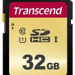 Карты памяти - Карта памяти Transcend 32GB SDHC Class 10 UHS-I U1, 0