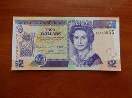 Банкноты - БЕЛИЗ 2 доллара 2011 г., 0