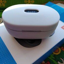 Наушники и Bluetooth-гарнитуры - Чехол-кейс белый для AirDots, 0