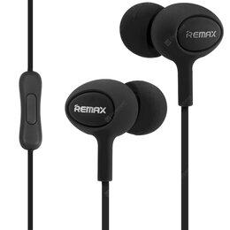 Наушники и Bluetooth-гарнитуры - Вакуумные наушники Remax Earphone 515, 0