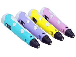 Рукоделие, поделки и товары для них - 3D ручка 3D pen-2 с дисплеем, 0