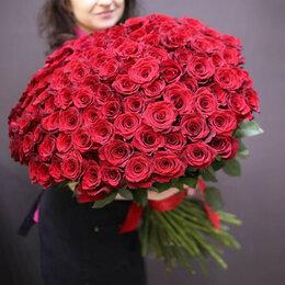Цветы, букеты, композиции - 101 Роза Цветы Доставка, 0
