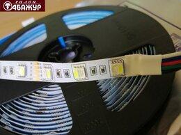 Светодиодные ленты - Светодиодная лента 12V 60LED 14,4W RGB+W, 0