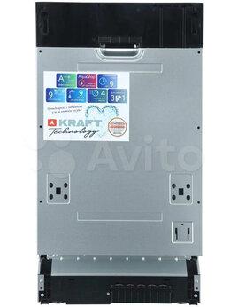 Посудомоечные машины - Посудомоечная машина kraft KF-FDM454D901W, 0