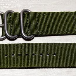 Ремешки для часов - Тканевый ремешок для часов 24 мм, 0