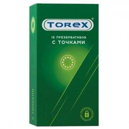 """Презервативы - Текстурированные презервативы Torex """"С точками""""…, 0"""