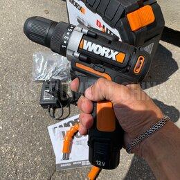 Шуруповерты - Дрель-шуруповёрт Worx WX128 12V аккумуляторный, 0