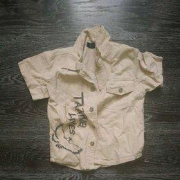 Рубашки - Рубашки на мальчика 104 с рукавами и без, 0
