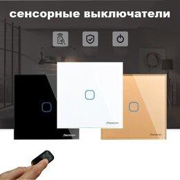Электроустановочные изделия - Сенсорные выключатели Sesoo с ДУ управлением, 0