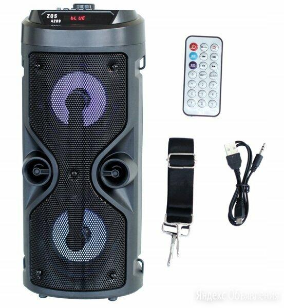 Портативная колонка BT Bluetooth Speaker ZQS-4209 по цене 2599₽ - Компьютерная акустика, фото 0