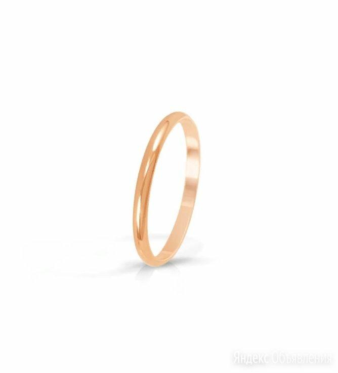Гладкое обручальное кольцо, золото 585 по цене 11270₽ - Комплекты, фото 0