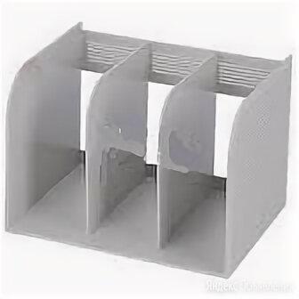 Подставка вертикальная 3-секционная УН58, УУ58 монолитная 1/24/ по цене 329₽ - Кронштейны, держатели и подставки, фото 0