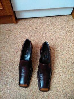 Туфли - Новые кожаные туфли. Германия, 0