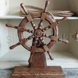 Сувениры - Штурвал на стойке декоративный, 0