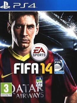 Игры для приставок и ПК - Видеоигра FIFA 14 (PS4), 0