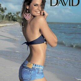 Пляжная одежда -  Пляжные короткие шорты-плавки David (Италия), 0