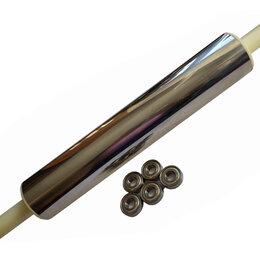 Скалки -  Скалка из нержавеющей стали на подшипниках., 0