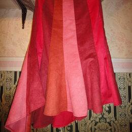 Юбки - Четырехцветная юбка, 0