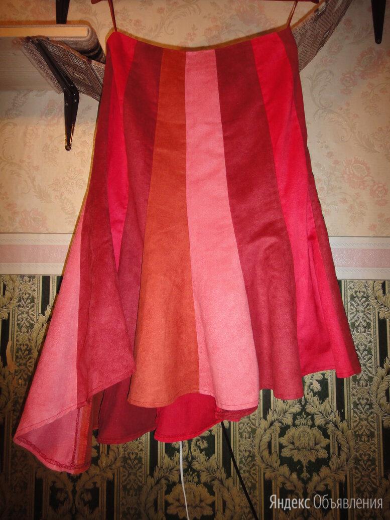 Четырехцветная юбка по цене 600₽ - Юбки, фото 0
